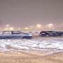 Auto bloccate dalla neve