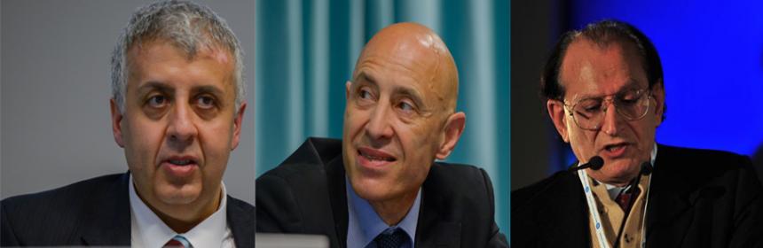 Emilio Contrasto, Sergio Mattiacci, Pietro Pisani