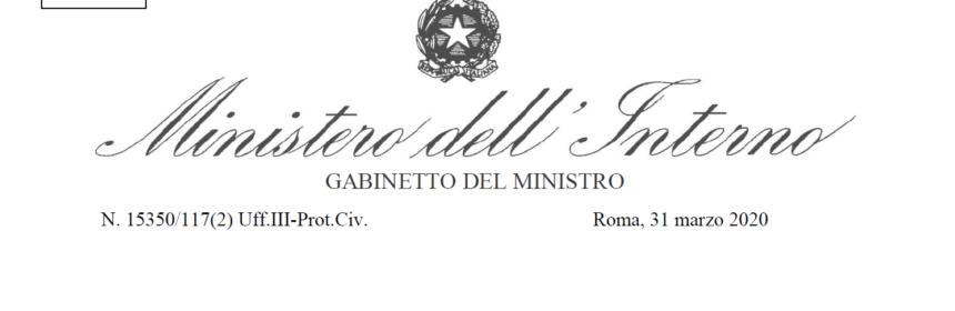 Circolare Ministero Int.