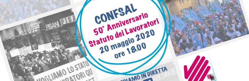 50° Anniversario Statuto Lavoratori