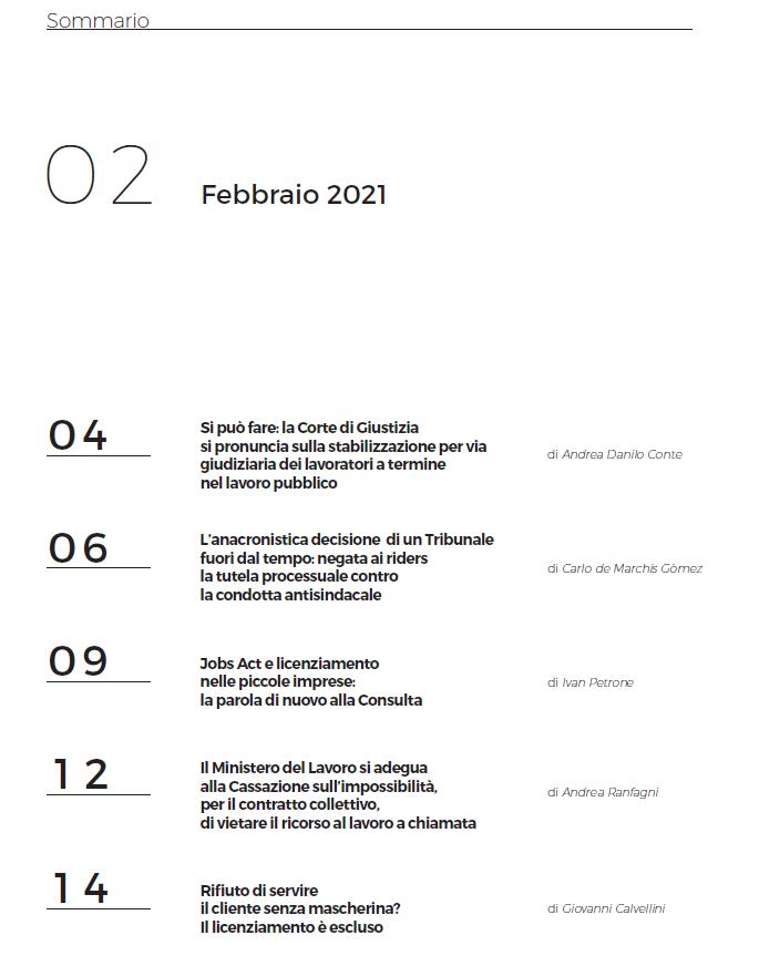 Sommario 2-2021
