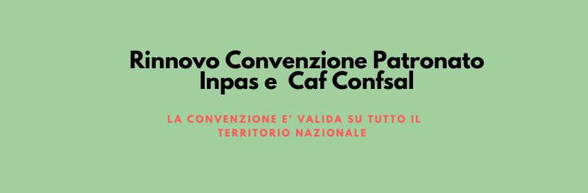 Convenzioni Caf e Patronato