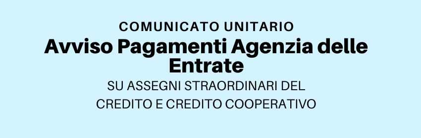 Comunicato Unitario