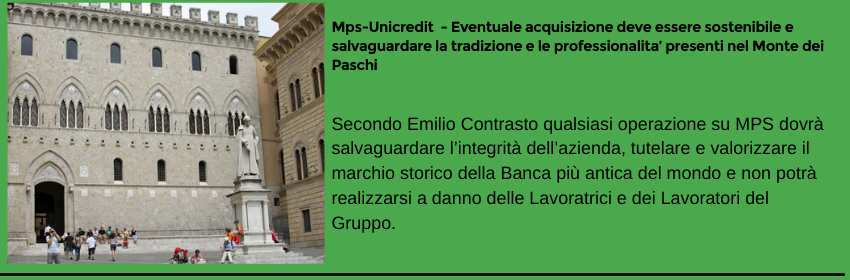 Comunicato Stampa Mps-Unicredit
