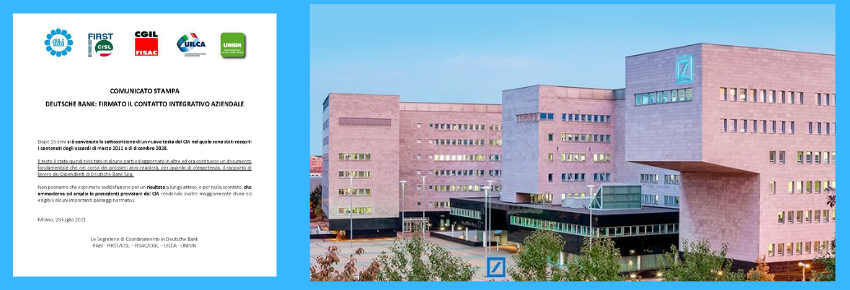 Deutsche Bank Accordo