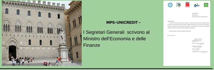 Lettera Segretari Generali