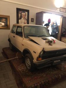 l'auto su cui fu ucciso il Generale Dalla Chiesa