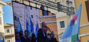 Roma Piazza Montecitorio 10 dicembre 2019