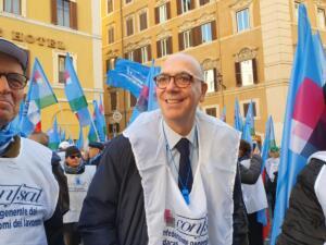 Valerio Fabi - Segretario nazionale Confsal . Roma 10 dicembre 2019